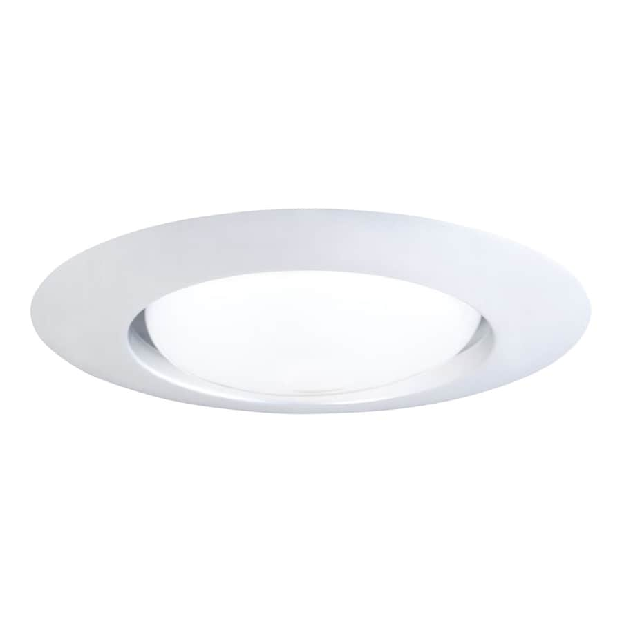 Shop halo white open recessed light trim fits housing diameter 6 halo white open recessed light trim fits housing diameter 6 in mozeypictures Choice Image