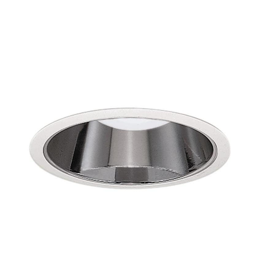 Halo 6 In White Clear Reflector Recessed Light Trim In The Recessed Light Trim Department At Lowes Com