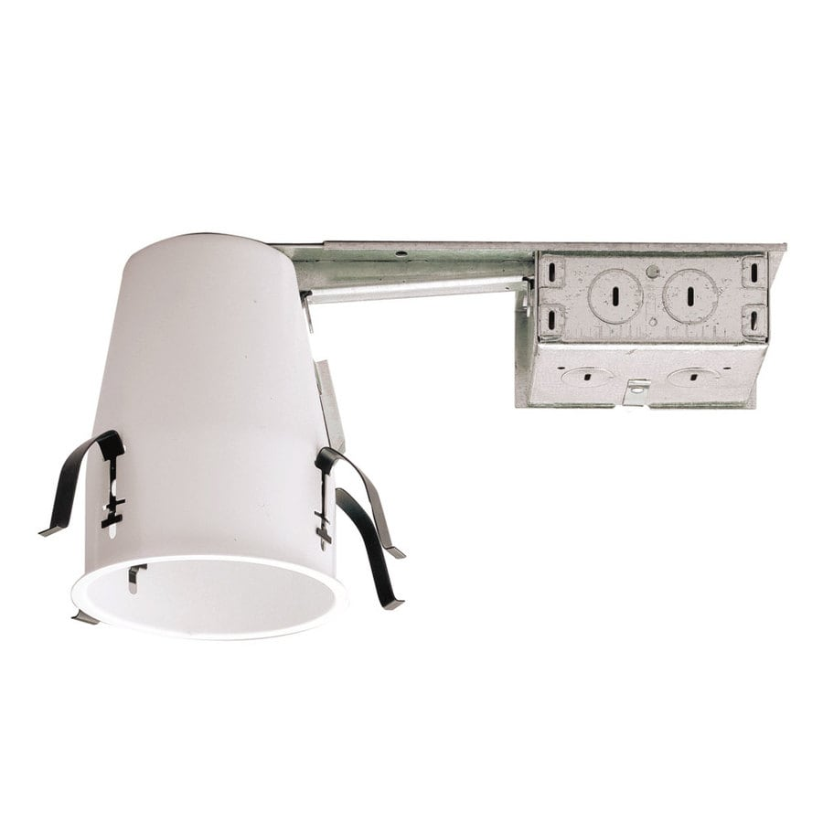 Halo Remodel Non-IC Shallow Recessed Light Housing (Common: 4-in; Actual: 4.25-in)
