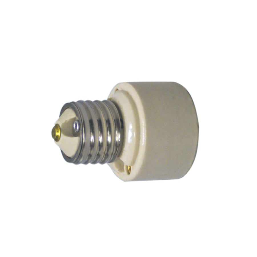 Shop halo 75 watt white medium light socket adapter at Light bulb socket