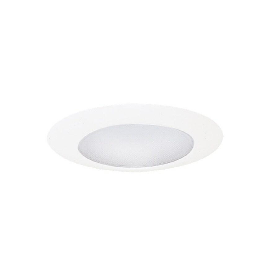 All Pro 6 In White Recessed Lighting Trim