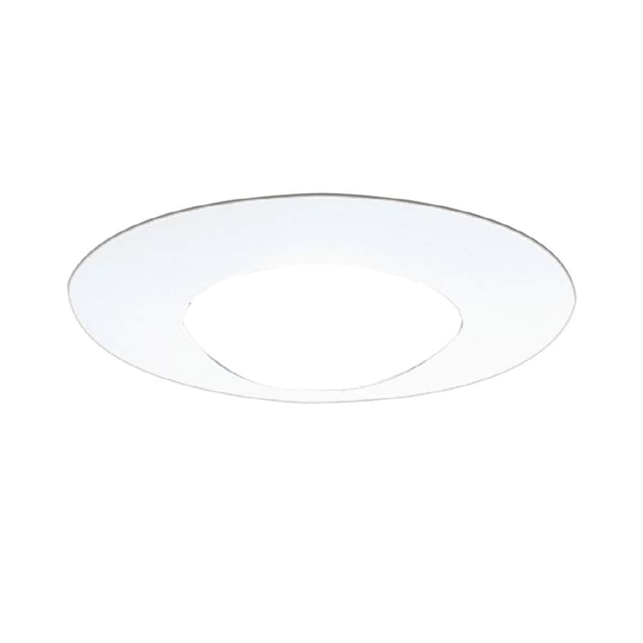 Shop Halo White Open Recessed Light Trim Fits Housing Diameter 6 In At Low