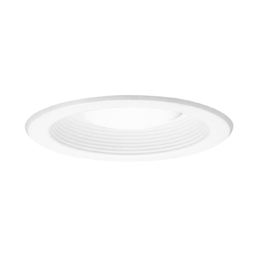 Halo White Open Recessed Light Trim (Fits Housing Diameter: 5-in)