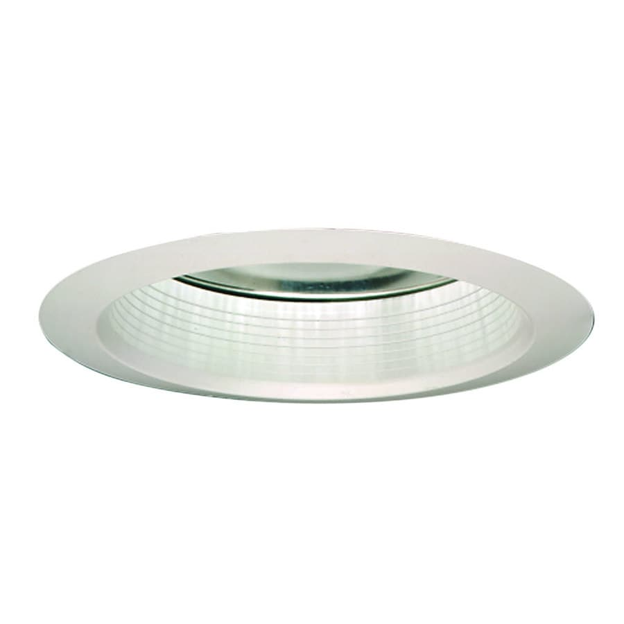 Shop recessed light trim at lowes halo super trim white trim with white baffle recessed light trim fits housing diameter mozeypictures