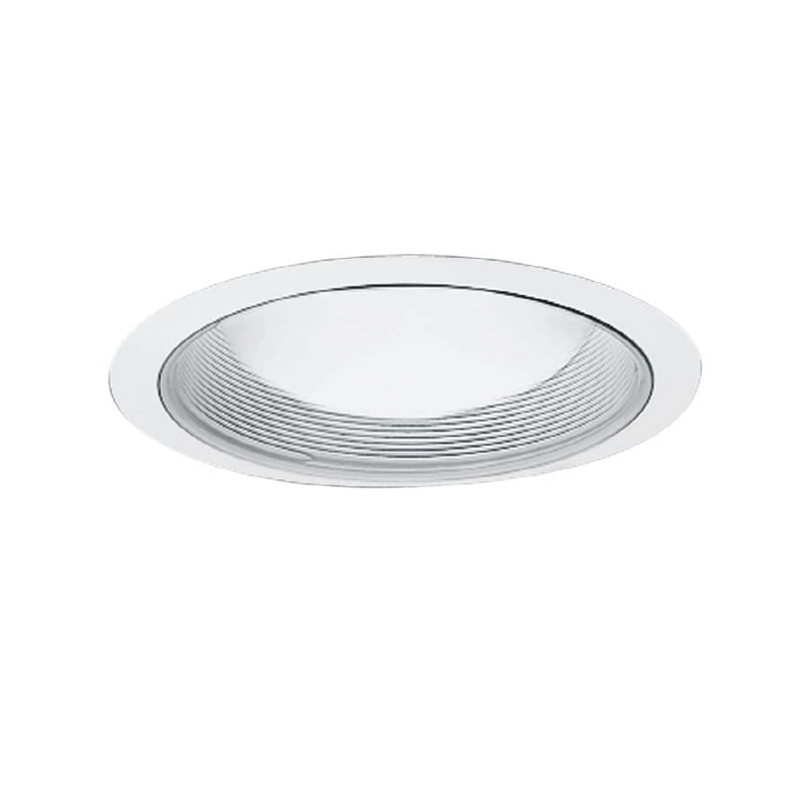 All-Pro White Baffle Recessed Light Trim (Fits Housing Diameter: 6-in)