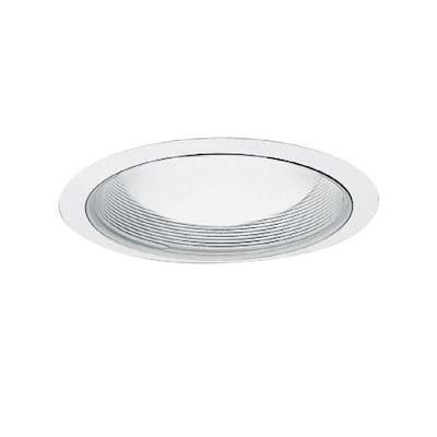 6 In White Baffle Recessed Lighting Trim