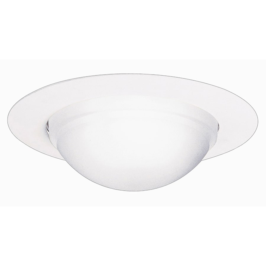 Halo White Shower Recessed Light Trim (Fits Housing Diameter: 6-in)