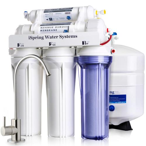 Ispring Rcc7 75gpd 5 Stage Ro Water Filter System 5 Stage