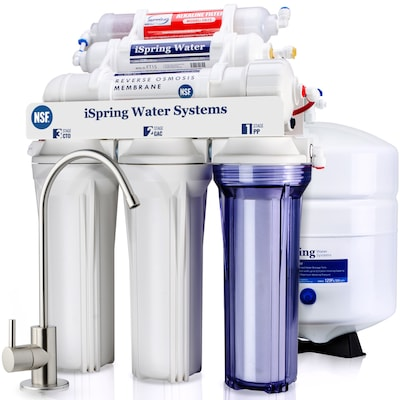 Rcc7ak 6 Stage Ro Water Filter System Mechanical Filtration Reverse Osmosis Under Sink