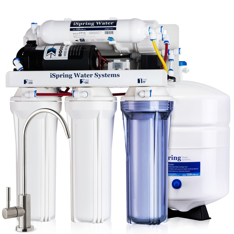 ISpring RCC100P 100 GPD 5-Stage RO Water Filter System 5-stage