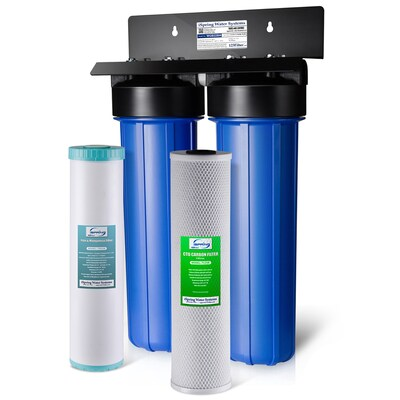 Whole House Water Filter Dual Stage