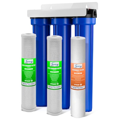 Water Filter System Triple Stage 12 Gpm