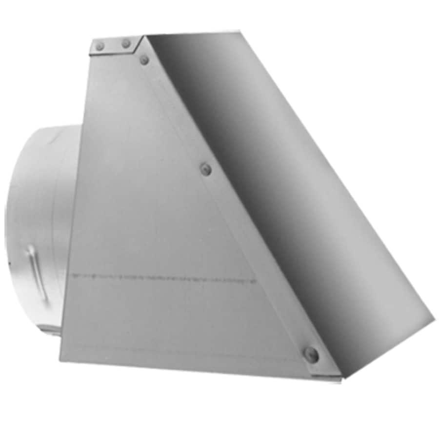 Simpson Dura-Vent Stainless Steel 3-in Horizontal Cap for Pellet Vent