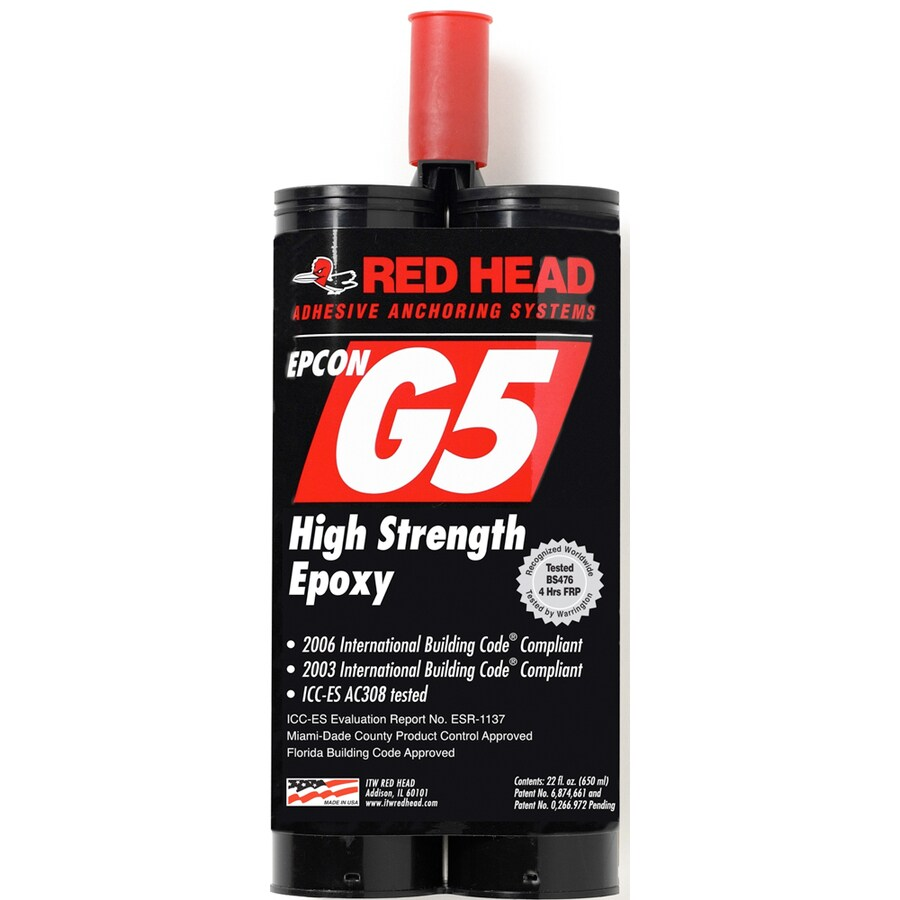 Red Head 22-oz Adhesive Cartridge