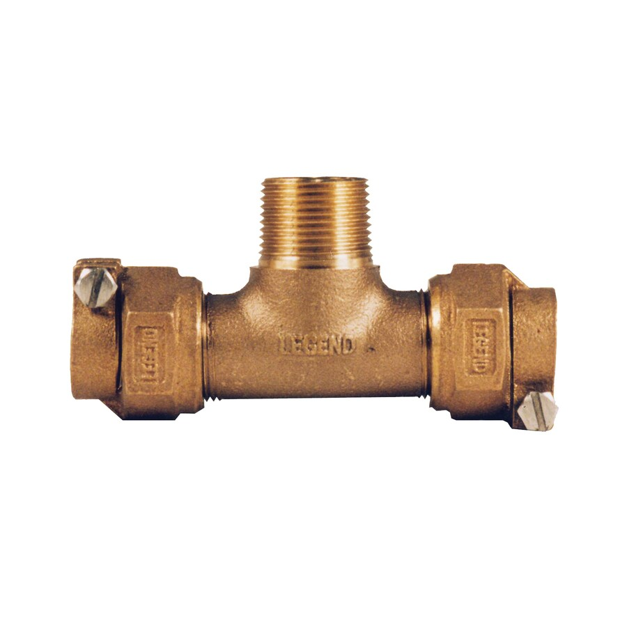 Legend Valve 3/4-in Dia. Copper Tee Fitting