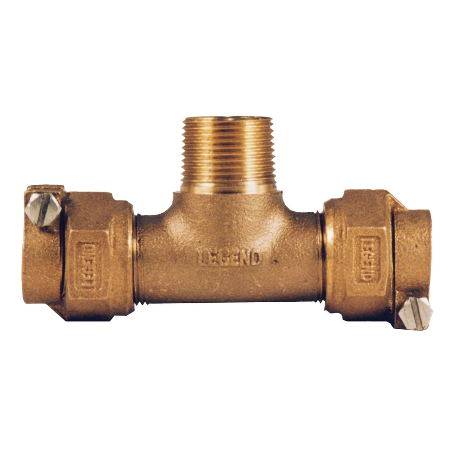 Legend Valve 3/4-in Copper Compression Tee Fittings