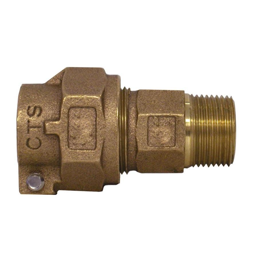 Legend Valve 1-in x 1-in Compression Coupling Fitting