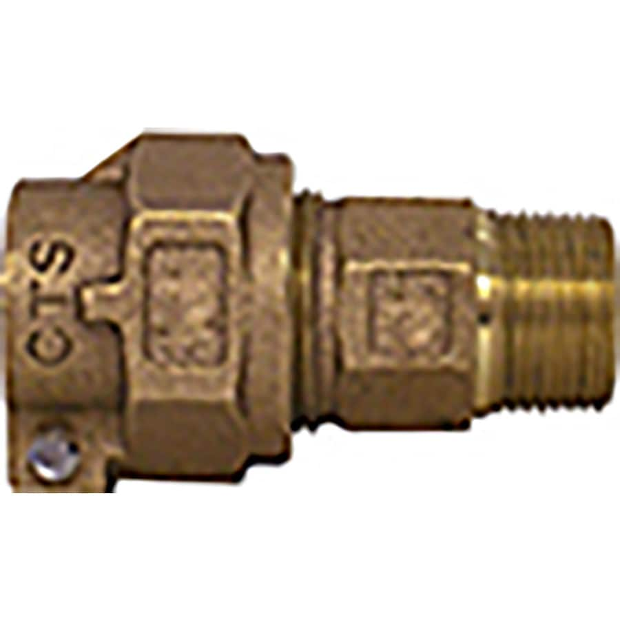 Legend Valve 3/4-in x 1-in Compression x MIP Adapter Fitting