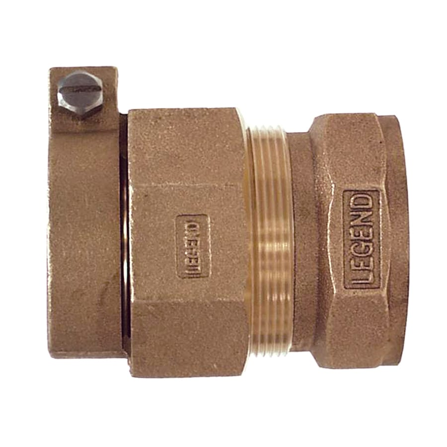Legend Valve 8-Pack 1-in Brass Couplings