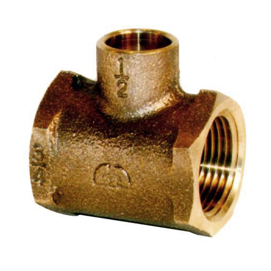 Legend Valve 1-Pack 3/4-in Brass Tee