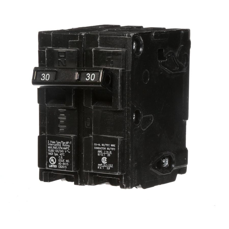 Siemens QP 30-Amp 2-Pole Circuit Breaker