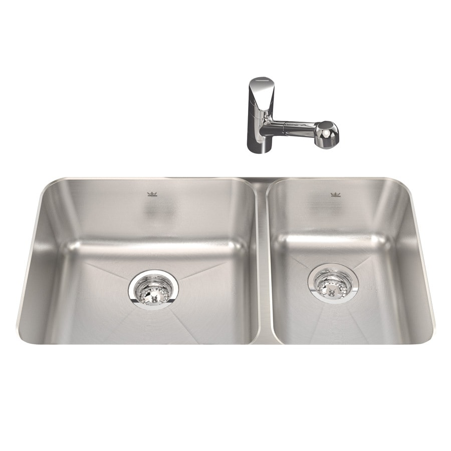 lowes undermount kitchen sink shop kindred 18 75 in x 32 875 in silk basin 7287