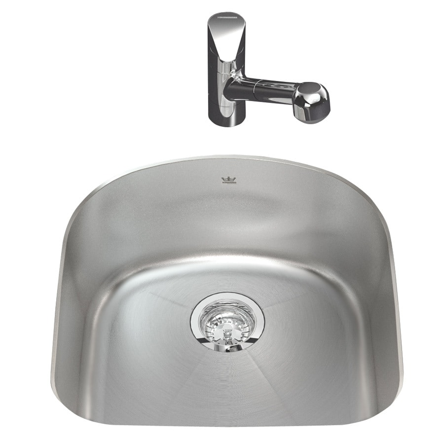 Kindred Qsfs31b 20 Gauge Apron Front Farmhouse Stainless: Kindred Stainless Steel Sink