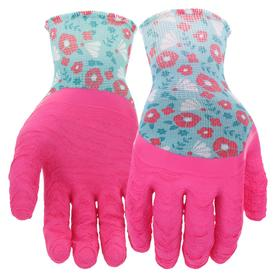 Awesome Style Selections Womenu0027s One Size Fits All Multicolor Polyester Garden  Gloves