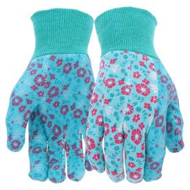 style selections womenu0027s one size fits all multicolor polyester garden gloves