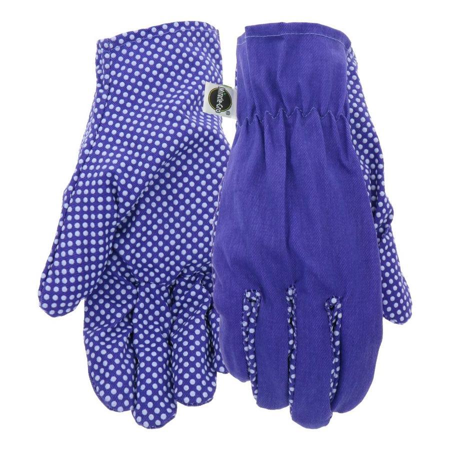 Merveilleux Miracle Gro Womenu0027s Large Purple Polyester Garden Gloves