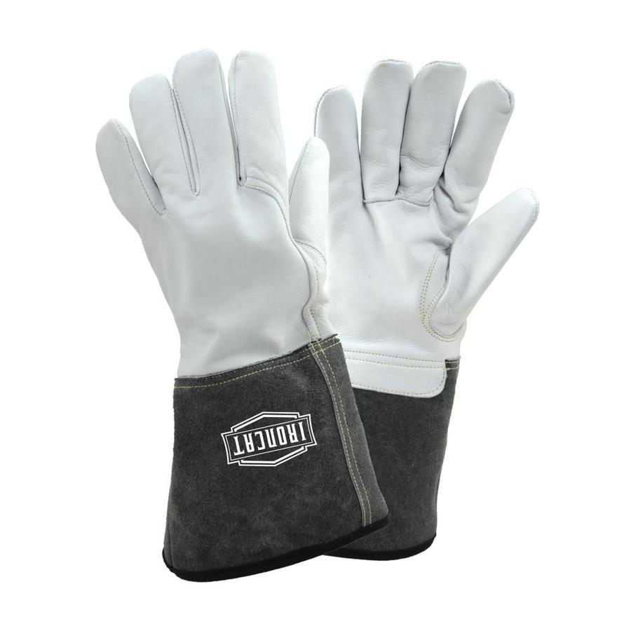 Ironcat White Gray Welding Gloves At Lowes Com