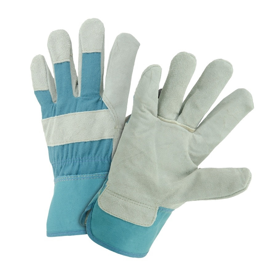 Style Selections Medium Ladies' Leather Work Gloves
