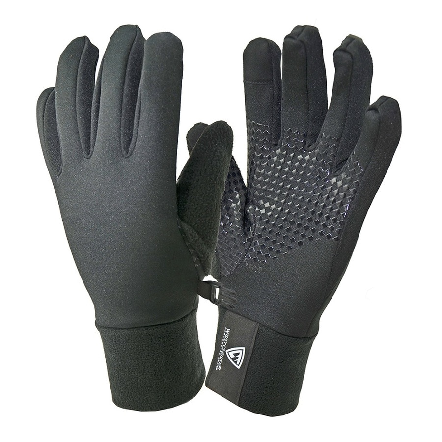 West Chester Medium Unisex Black Polyester Insulated Winter Gloves