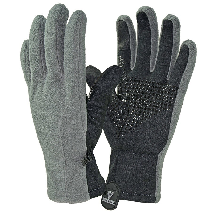 West Chester Small Unisex Gray Polyester Insulated Winter Gloves