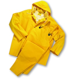 West Chester 3-Piece X-Large Yellow Rain Suit