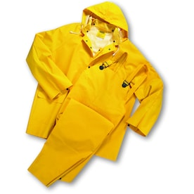 West Chester 3-Piece Xx-Large Yellow Rain Suit