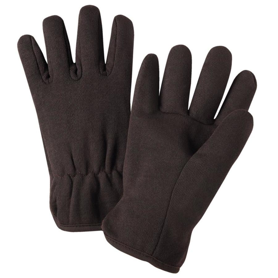 West Chester 2-Pack Large Unisex Tan Cotton Winter Gloves