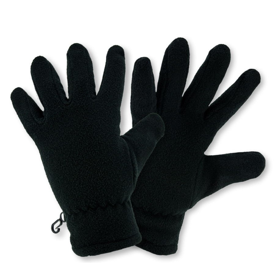 Black cotton gloves for eczema - West Chester Large Uni Black Cotton Insulated Winter