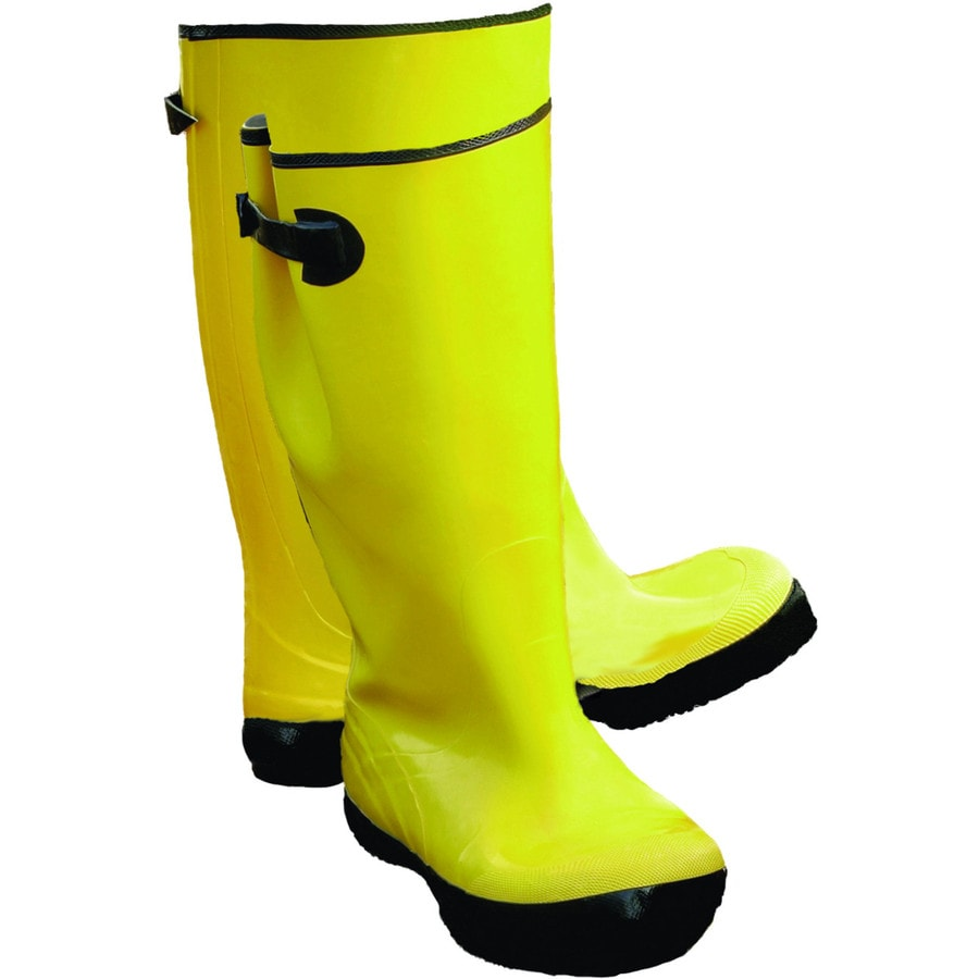 West Chester Lined Yellow Rubber Boots (10)