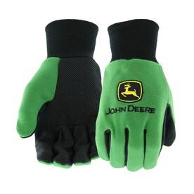 John Deere Mens Cotton Utility Gloves, Large