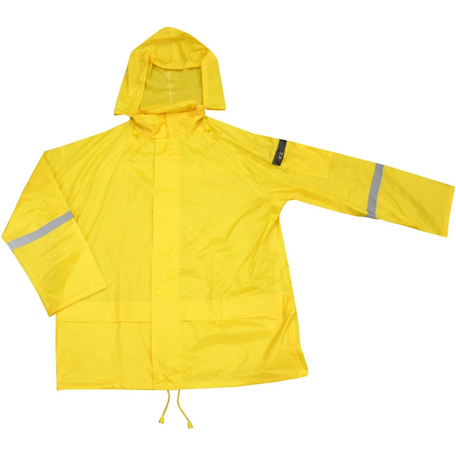 West Chester Large Yellow Rain Jacket