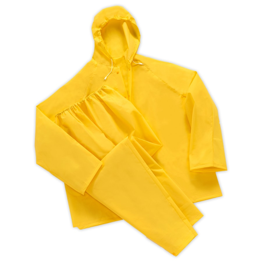 West Chester 2-Piece X-Large Yellow Rain Suit