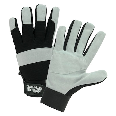 Lowes Work Gloves >> Large Unisex Leather Gloves