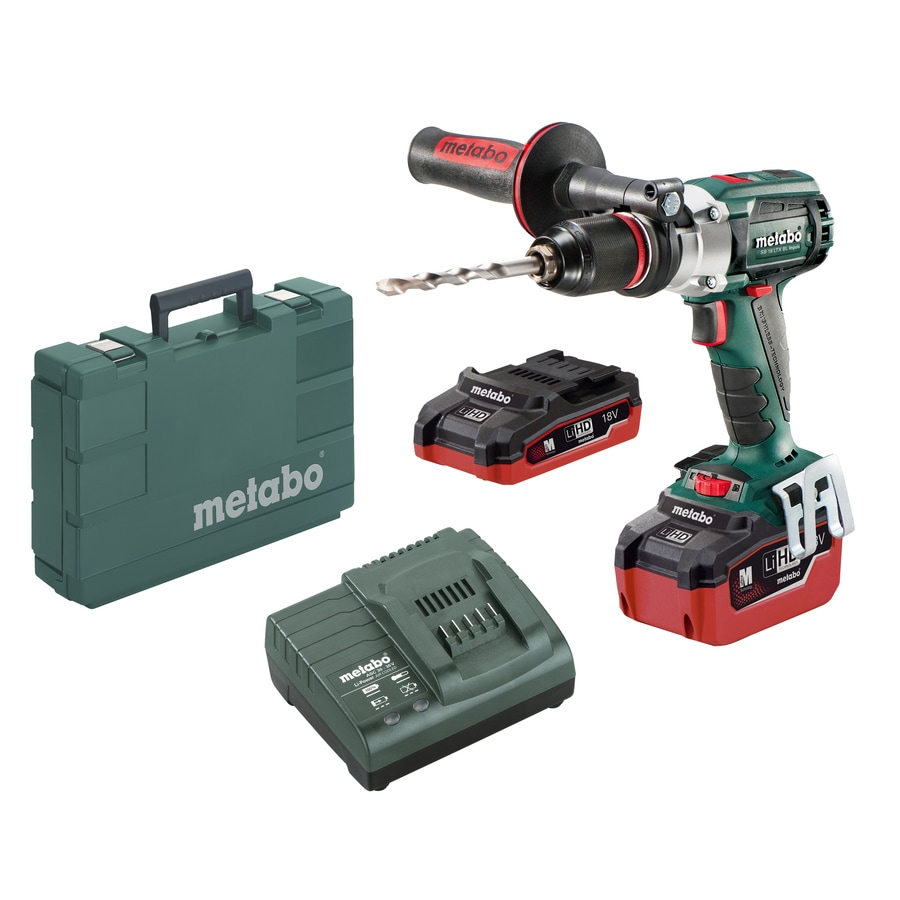 Metabo 1/2-in 18-Volt Lithium Ion (Li-ion) Variable Speed Brushless Cordless Hammer Drill