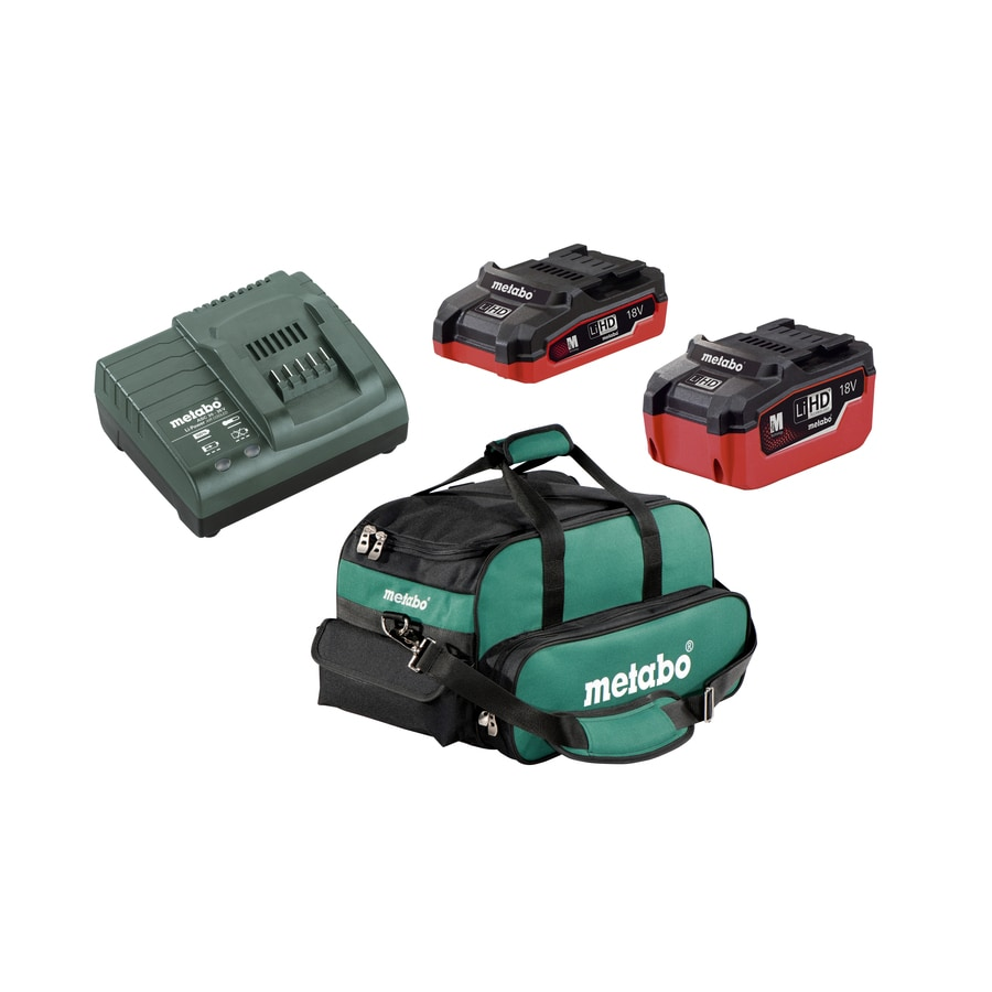 Metabo 2-Pack 18-Volt 5.5-Amp Hours Lithium Power Tool Batteries