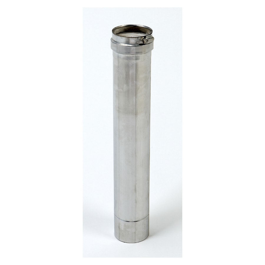 Z Flex 3 Quot Stainless Steel Vent Pipe At Lowes Com