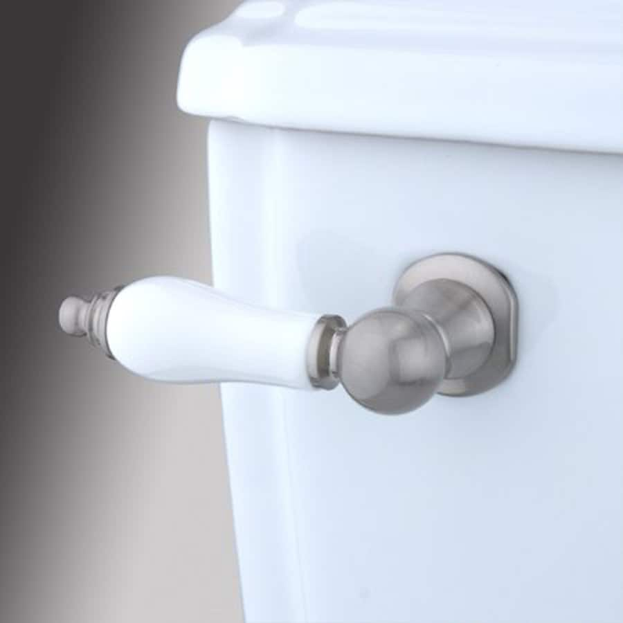 Elements Of Design Victorian 8-in Satin Nickel Toilet Lever At Lowes.com