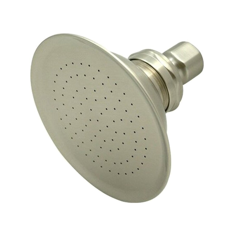 Elements Of Design Victorian Satin Nickel 1-Spray Rain Shower Head At Lowes.com