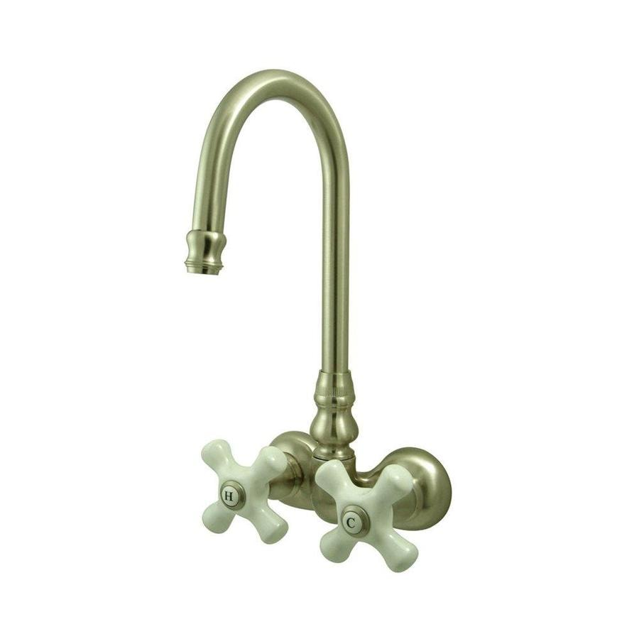 Elements Of Design Hot Springs Satin Nickel 2 Handle Wall