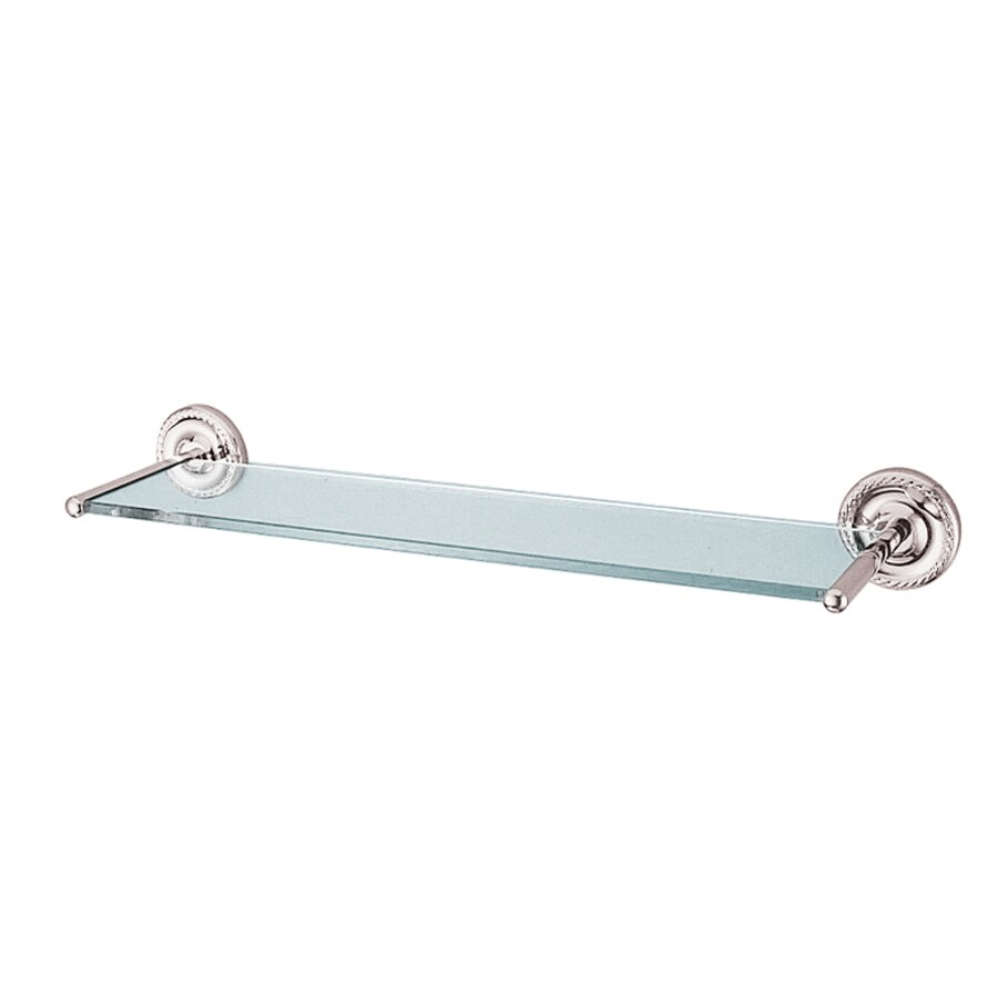 Kingston Brass Laurel Polished Chrome Single Towel Bar (Common: 18-in; Actual: 18-in)